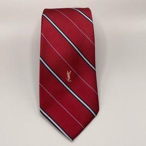 Yves Saint Laurent Striped Men's Neck Tie